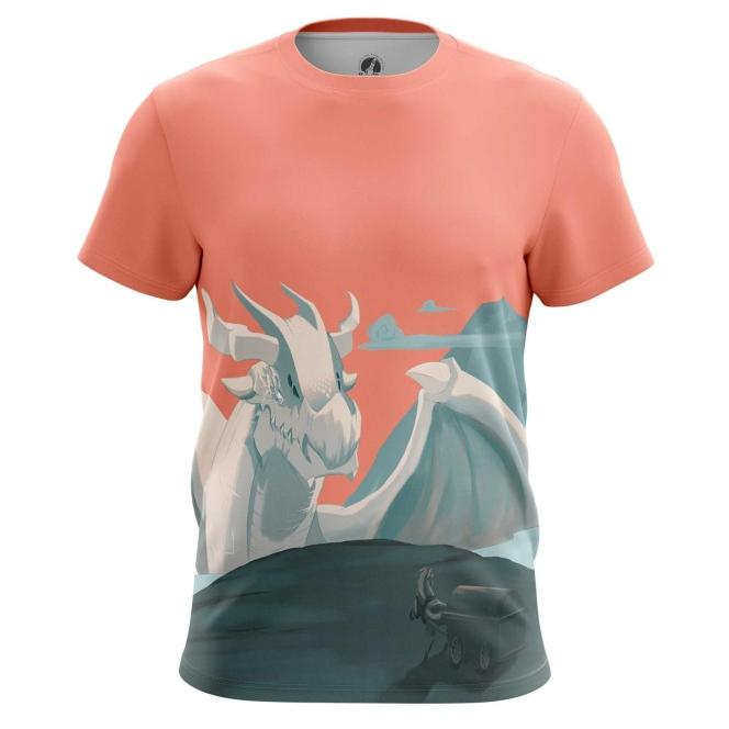 Collectibles - T-Shirt Dragon Web Art Illustration Print