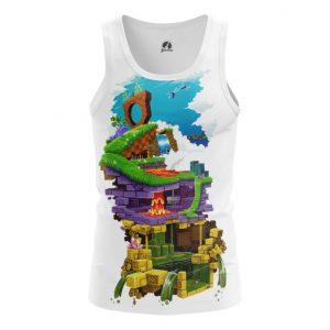 Merchandise Tank Sonic Sonic Hedgehog X-Mas Christmas Special Levels Vest