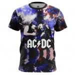 Merch Men'S T-Shirt Ac Dc Fan Art Illustration
