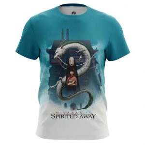 Collectibles T-Shirt Spirited Away Hayao Miyazaki Art