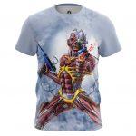 Collectibles Men'S T-Shirt Iron Maiden Fan Art Cover