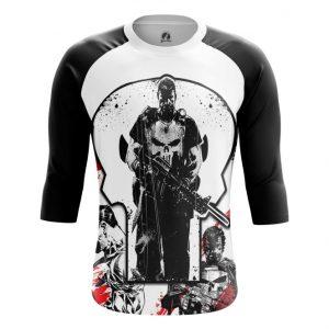 Merch Raglan Punisher Frank Castle Inspired Clothing