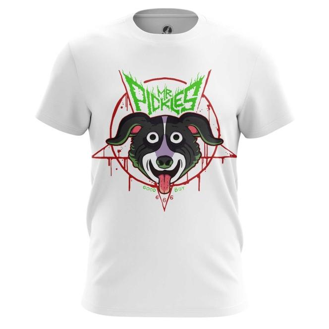 Merch T-Shirt Mr Pickles Merch Props Dog Animated Cartoon