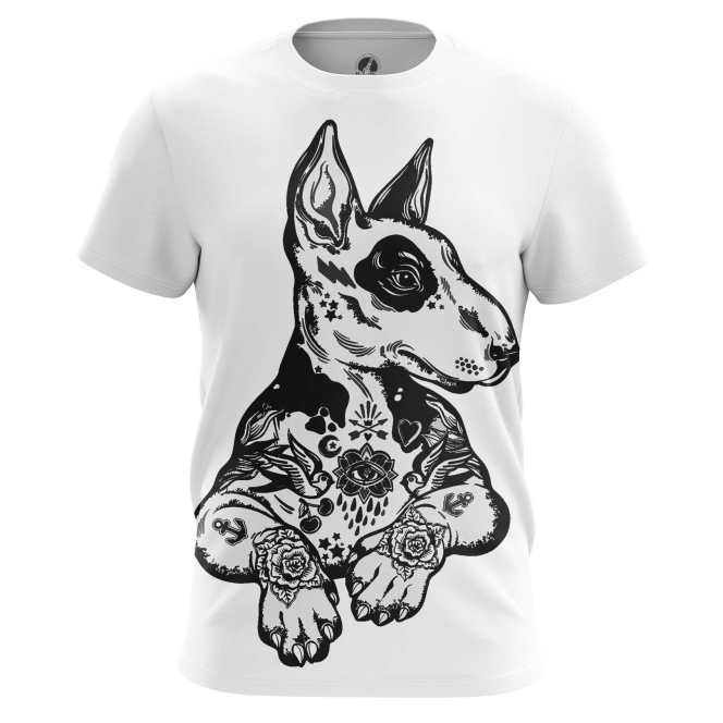 Merch Men'S T-Shirt Pit Bull Terrier Fan Dog