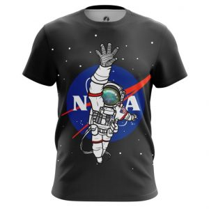 Merch Men'S T-Shirt Nasa Space Universe