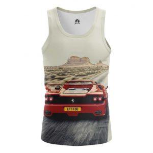 Collectibles Tank Ferrari Car Logo Emblem Valley Of Monuments Vest