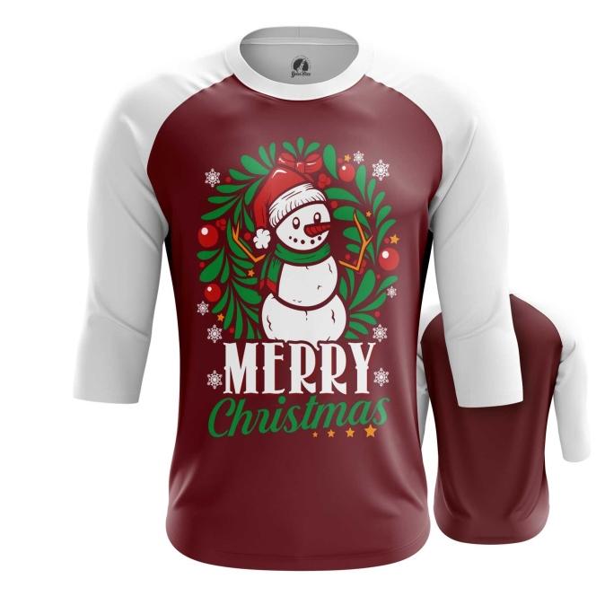 Merchandise - Raglan Merry Christmas 2 Christmas