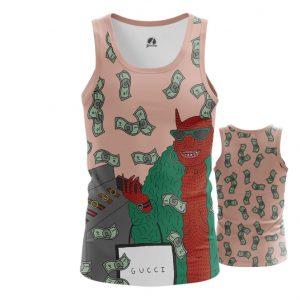 Merchandise Tank Gucci Gang Lil Pump Web Fan Art Illustration Vest