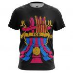 Collectibles Men'S T-Shirt Fc Barcelona Fan Art Pattern Logo
