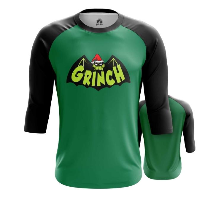 Merch Raglan Grinch Batman Christmas
