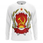 Collectibles Long Sleeve Ussr Coat Logo Emblem Soviet Union Lenin