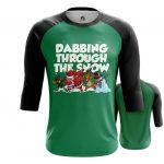 Merch - Raglan Dabbing Xmas Christmas