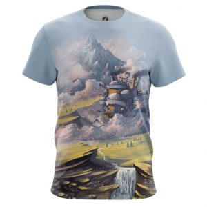 Collectibles Howl'S T-Shirt Moving Castle Ghibli Studio