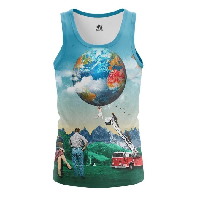 Merch Tank Weekdays Picture Contemporary Art Vest
