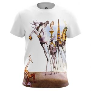 Collectibles - T-Shirt Temptation Of St. Anthony Painting By Salvador Dali
