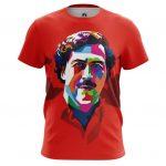 Collectibles Men'S T-Shirt Pablo Escobar Pop Art Picture