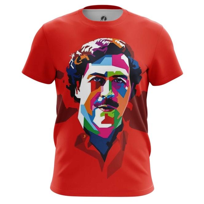 Merchandise Men'S T-Shirt Pablo Escobar Pop Art Picture