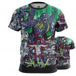 Merchandise Evangelion T-Shirt Neon Genesis Eva Animated