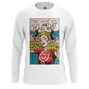 Merch Long Sleeve Kiss Bang Pop Art Comics Let It Kill You