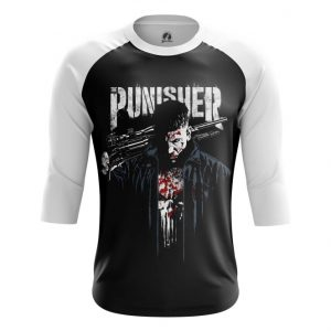 Merch Raglan Punisher Netflix Version Inspired Clothing