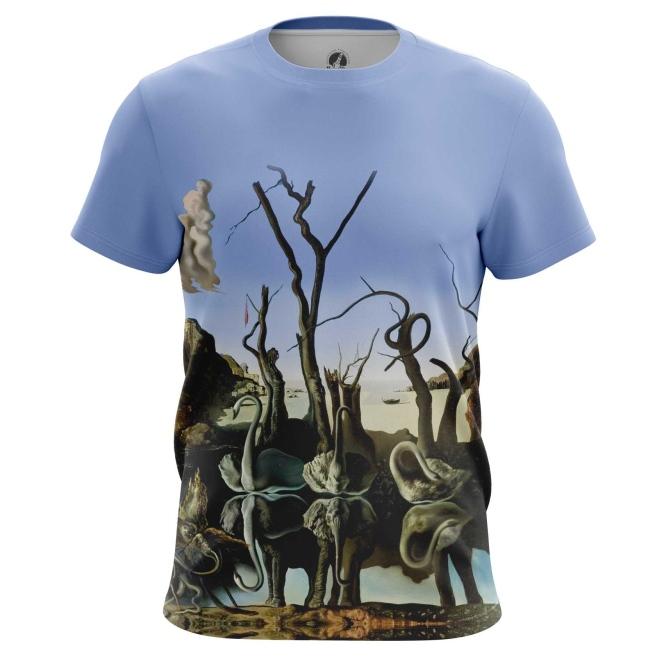 Merchandise T-Shirt Swans Reflecting Elephants Salvador Dali