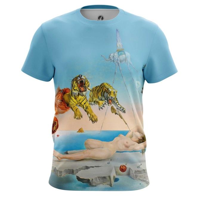 Merch T-Shirt Salvador Dali'S Dream Art Painting