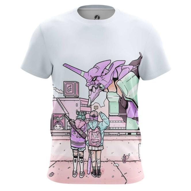 Merch T-Shirt Evangelion Eva Gainax Tatsunoko