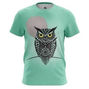Merch Men'S T-Shirt Owl Bird Art Animals Shirts