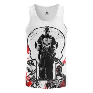 Merch Tank Punisher Frank Castle Inspired Clothing Vest