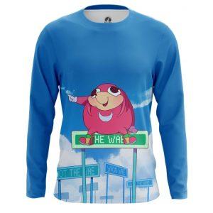 Merchandise Men'S Long Sleeve Da Wei Meme Sonic Web Fun Art