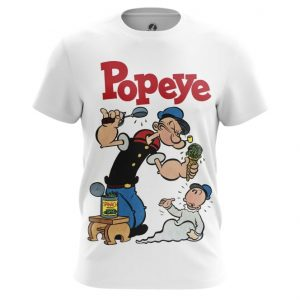 Collectibles Men'S T-Shirt Popeye Sailor Art Picture
