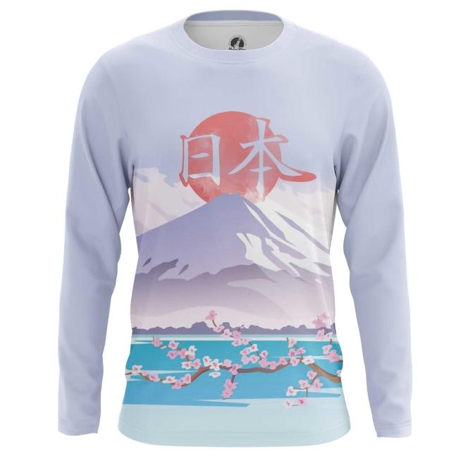 Collectibles Men'S Long Sleeve Japan Mount Fuji National Symbol