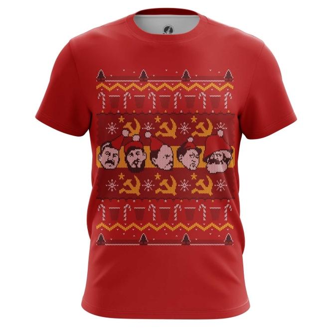 Collectibles T-Shirt Soviet Ussr Communism Christmas