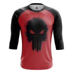 Merch Raglan Punisher Red Inspired