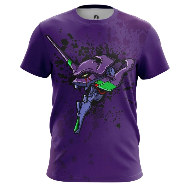 Collectibles T-Shirt Neon Genesis Evangelion Eva Animated Series