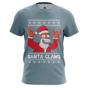 Collectibles T-Shirt Santa Claws Futurama Zoidberg Christmas X-Mas