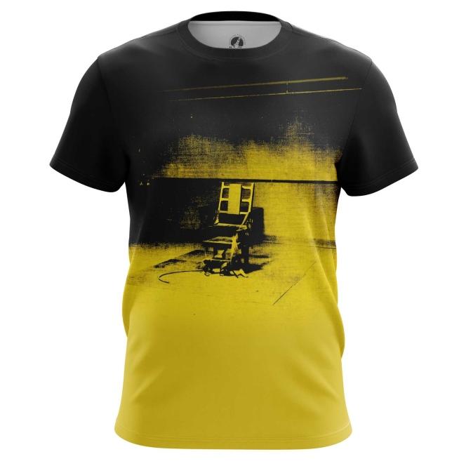 Merch T-Shirt Electric Chair Andy Warhol Print