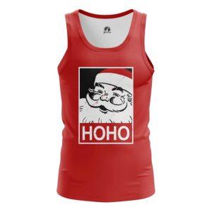 Merch Tank Hoho Santa Pop-Art Christmas Vest