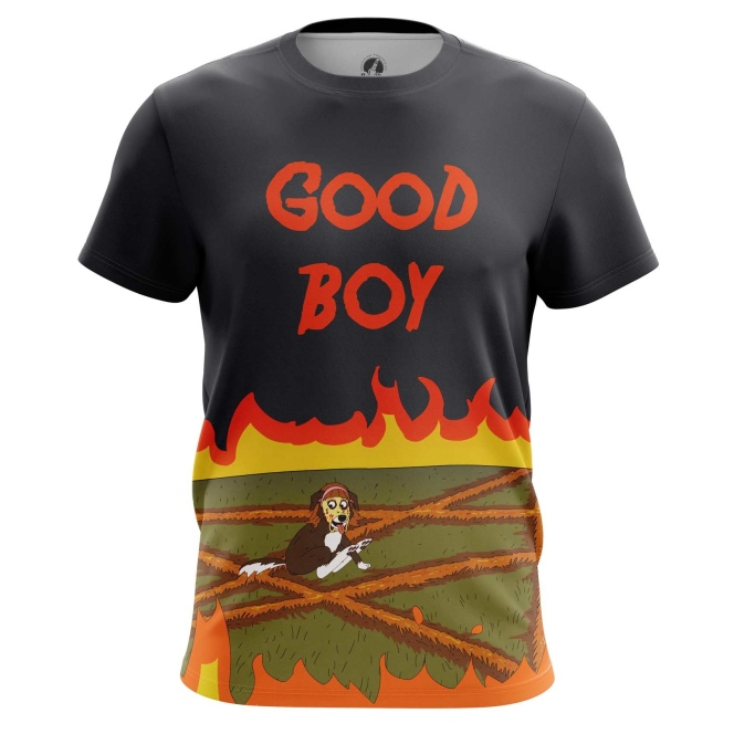 Collectibles T-Shirt Mr. Pickles Good Boy Animated Series Inspired