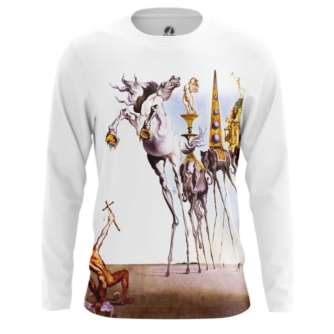 Collectibles Long Sleeve Temptation Of St. Anthony Painting Salvador Dali