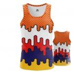 Merchandise - Tank Comics Patterns Pop Art Inspired Textures Vest