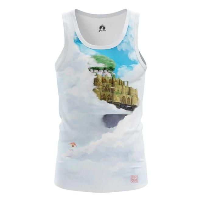 Merchandise - Tank Castle In Sky Ghibli Vest