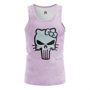 Merch Tank Hello Kitty Punisher Marvel Vest