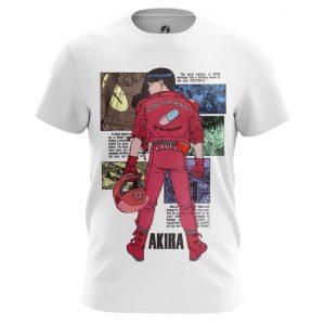 Merch Akira T-Shirt Thriller Post-Apocalyptic White