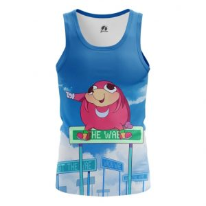 Merchandise Tank Da Wei Meme Sonic Web Fun Art Vest
