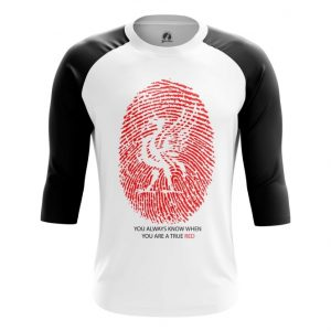 Collectibles Raglan Liverpool Fan Football Red
