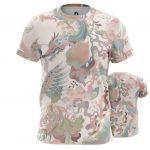 Collectibles - T-Shirt Japanese Dragon Pattern Asian Mythology