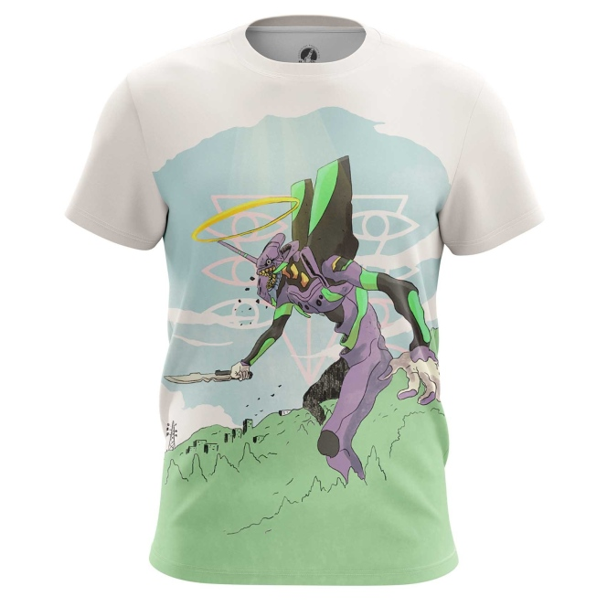 Merch T-Shirt Eva Neon Genesis Evangelion