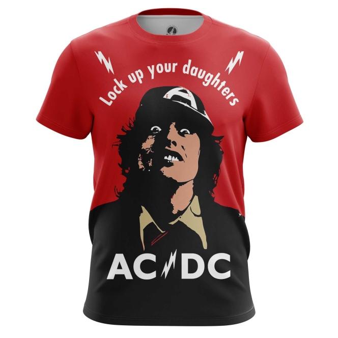 Collectibles Men'S T-Shirt Ac/Dc Gear Fans