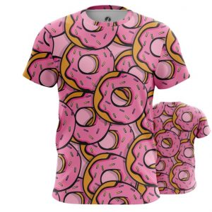 Merchandise T-Shirt Doughnuts Donuts Art Inspired Food Pattern